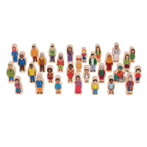 My Family Wooden Set - CTUFF420 | Learning Advantage | Toys