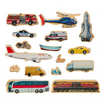Getting Around - Set of 16 - CTUFF471   Learning Advantage   Pretend & Play