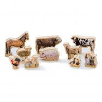 My Farm Animals - Set of 10 - CTUFF486 | Learning Advantage | Animals