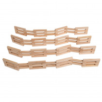 Wooden Fences, Set of 4 - CTUFF920 | Learning Advantage | Toys