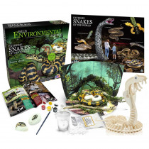 Extreme Science Kit, Snakes of the World - CTUWES944 | Learning Advantage | Animal Studies