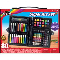 Art Set, 80 Pieces - CZA110076   Larose Industries Llc   Art & Craft Kits