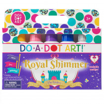 DAD104 - Do A Dot Art Shimmers 5 Pk Washable Washable 5 Pack in Markers