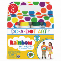 DAD201 - Do-A-Dot Markers 4 Asst in Markers