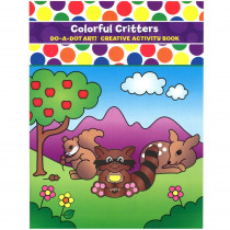 DADB360 - Colorful Critters Activity Book in Art Activity Books