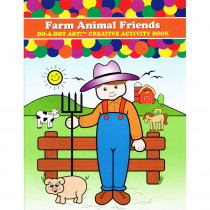 DADB370 - Farm Animals Activity Book in Art Activity Books