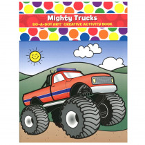 DADB375 - Mighty Trucks Activity Book in Art Activity Books