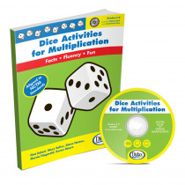 DD-210907 - Dice Activities For Multiplication Resource Book Gr 3-6 in Unifix