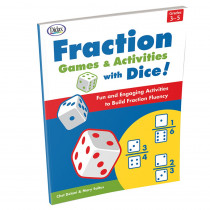 Fraction Games & Activities with Dice - DD-211187 | Didax | Math