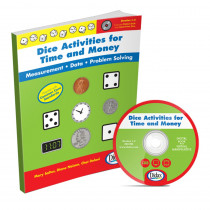 DD-211392 - Dice Activities For Time & Money in Math