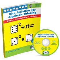 DD-211396 - Dice Activities For Algebraic Thinking in Algebra