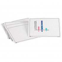 DD-211447 - Write And Wipe Graphing Mats in Graphing