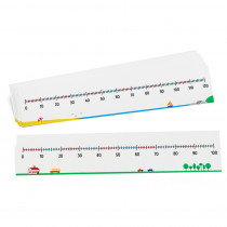 DD-211558 - 2 Sided Num Lines 0-100/0-120 10Set Write On/Wipe Off in Number Lines