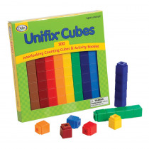 DD-225 - Unifix Cubes 100 Asst Colors in Unifix