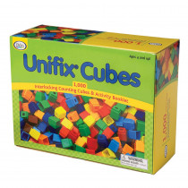 DD-2BKA - Unifix Cubes 1000 Asstd Colors in Unifix