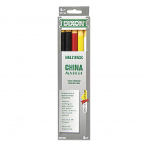 DIX00105 - Dixon China Markers Asst 5Pk in Markers