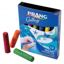 DIX15360 - Prang Freart Artist Chalk 12 Color Box in Chalk