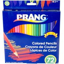 Colored Pencils, 3.3mm, Sharpened, 72 Colors - DIX22725 | Dixon Ticonderoga Company | Colored Pencils