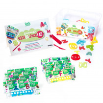 DIX349000 - Das Jr Schoolpack Lab Letters in Clay & Clay Tools