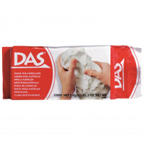 DIX387500 - Prang Das Air Hardening Modeling Clay 2.2 Lb White in Clay & Clay Tools