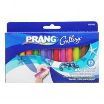 DIX53012 - Ambrite Paper Chalk 12 Color Box in Chalk