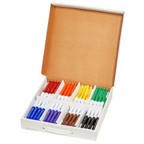 Art Markers, Washable Master Pack, 8 Colors, 96 Markers - DIX80614 | Dixon Ticonderoga Company | Markers