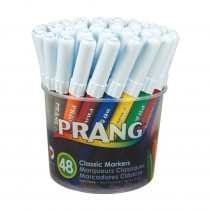 DIX80848 - Prang Art Markers Washable 48 Colors in Markers