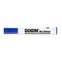 Dry Erase Markers Wedge Tip, Blue, Pack of 12 - DIX92108 | Dixon Ticonderoga Company | Markers