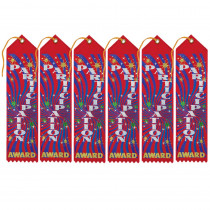 DM-AR05 - Award Ribbon Participation 6-Pk in Ribbons