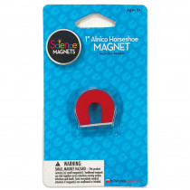 DO-731014 - Science Magnet 1In Alnico Horseshoe Magnet in Magnetism