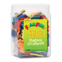 DO-732102 - Foam Fun Magnet Counters in Counting