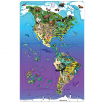 DO-734100 - Wildlife Puzzle North South America in Puzzles