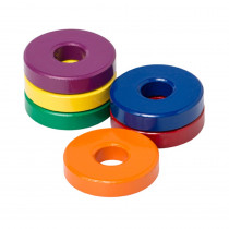 DO-735010 - Six 1 1/8 Ceramic Ring Magnets in Fasteners