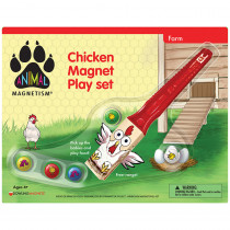 DO-736870 - Chicken Magnet Play Set Animal Magnetism in Magnetism