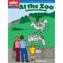 DP-493989 - Boost At The Zoo Coloring Book Gr Pk-K in Art Activity Books