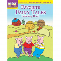 DP-494039 - Boost Favorite Fairy Tales Coloring Book Gr Pk-K in Art Activity Books