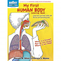 DP-494101 - Boost My First Human Body Coloring Book Gr 1-2 in Art Activity Books