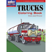 DP-49411X - Boost Trucks Coloring Book Gr 1-2 in Art Activity Books