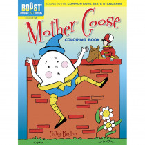 DP-494144 - Boost Mother Goose Coloring Book Gr 1-2 in Art Activity Books