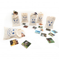 Feelings & Emotions Sorting Bags - EA-54 | Polydron | Resources
