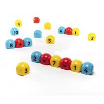 Magnetic Number Blocks - EA-62   Polydron   Unifix