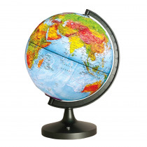 EE-EDU2837 - Dual Cartography Led Illuminated Globe in Globes