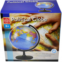 EE-EDU36899 - 11In Desktop Political Globe in Globes