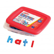 EI-1633 - Alphamagnets Lowercase 42 Pcs Color-Coded in Magnetic Letters