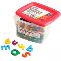 EI-1638 - Alpha And Math Magnets Multi 214Pk in Magnetic Letters