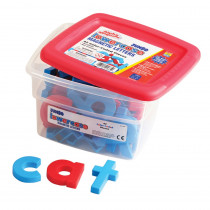 EI-1685 - Alphamagnets Jumbo Lowercase 42 Pcs Color-Coded in Magnetic Letters