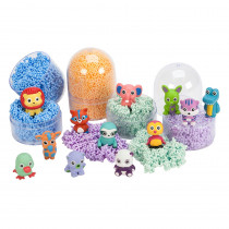 EI-1970 - Playfoam Pals Display 12 Pcs in Foam