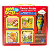 EI-2328 - Hot Dots Jr Interactive Storybook Set Famous Fables in Hot Dots