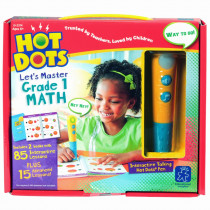 EI-2374 - Hot Dots Jr Lets Master Math Gr 1 in Hot Dots