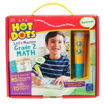 EI-2375 - Hot Dots Jr Lets Master Math Gr 2 in Hot Dots